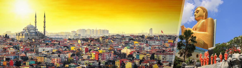 Turquía y Sri Lanka: Estambul y Sri Lanka, estancia y circuito