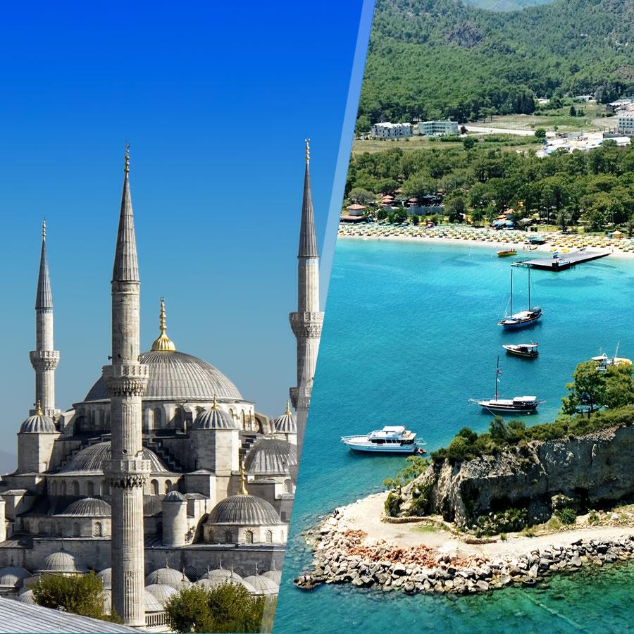Estambul y la Costa Turca (Antalya)