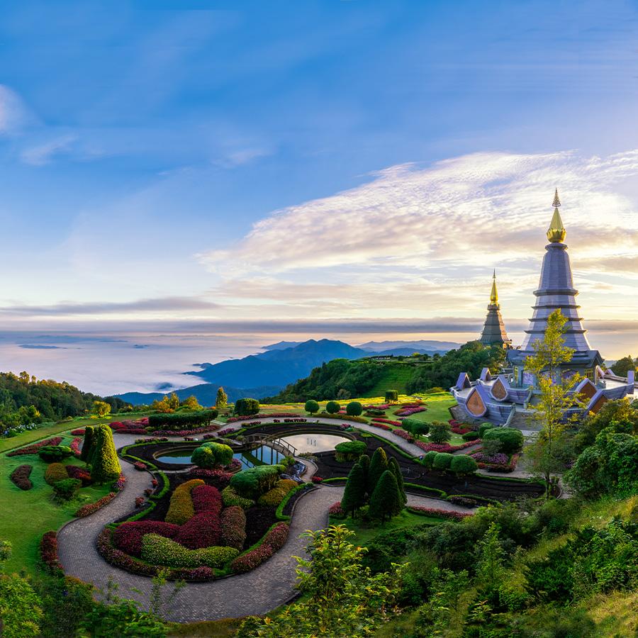 Resultado de imagen de Región rica en minerales y de gran belleza natural de Tailandia.