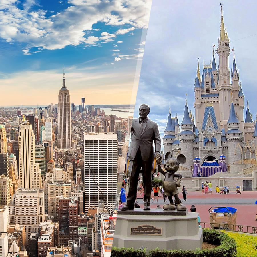 EEUU: Nueva York y Walt Disney World Orlando, a tu aire flexible en ...