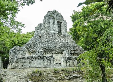 M xico ruta maya del yucat n a tu aire en coche for Muralla entre mexico y guatemala