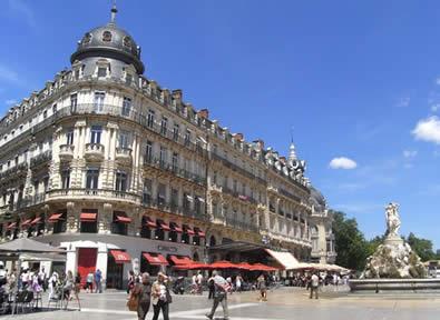 Trenes TGV París - Montpellier
