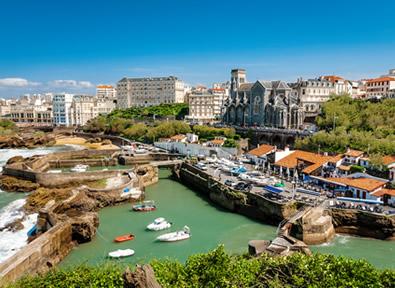 Trenes TGV París - Biarritz