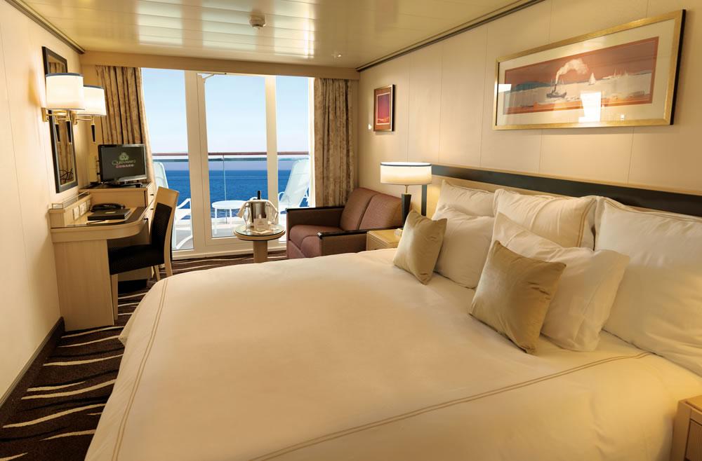 Cubierta deck 8 del barco queen mary 2 cunard for Exterior vista obstruida