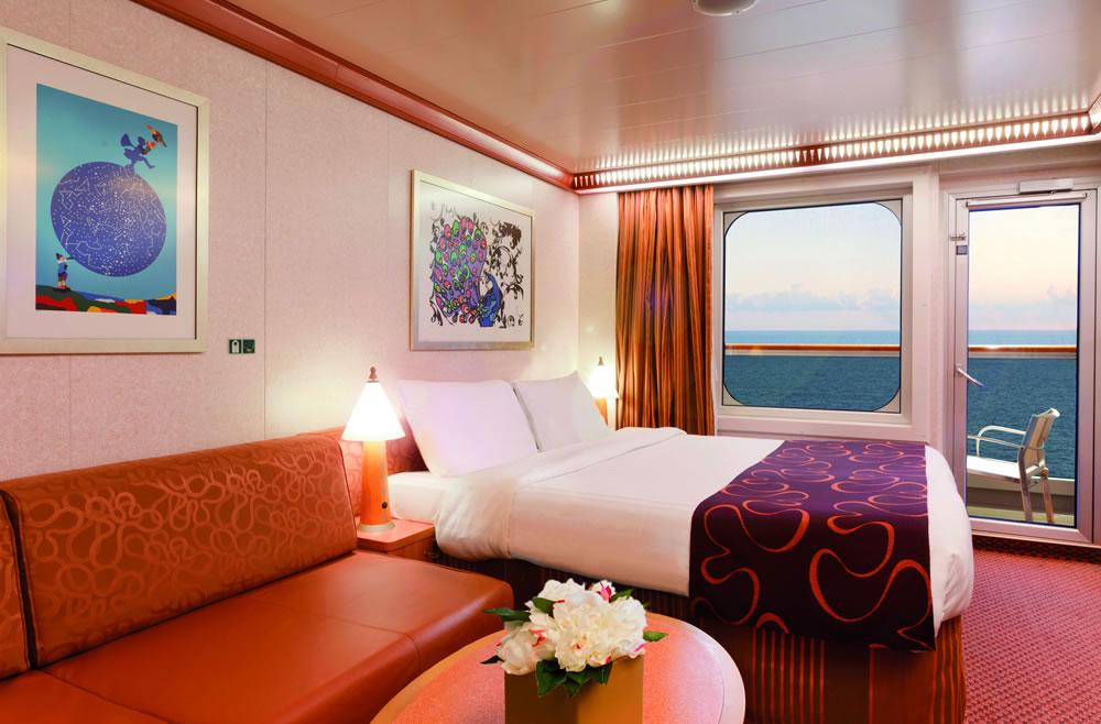 Categor as y camarotes del barco costa favolosa costa for Costa mediterranea ponti