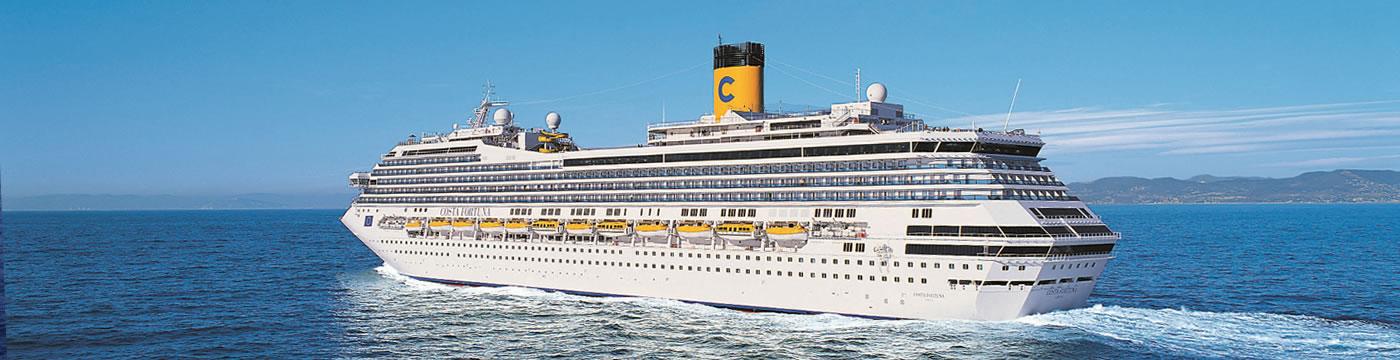 Costa Fortuna | Okružní plavby lodi - Lucky Travel