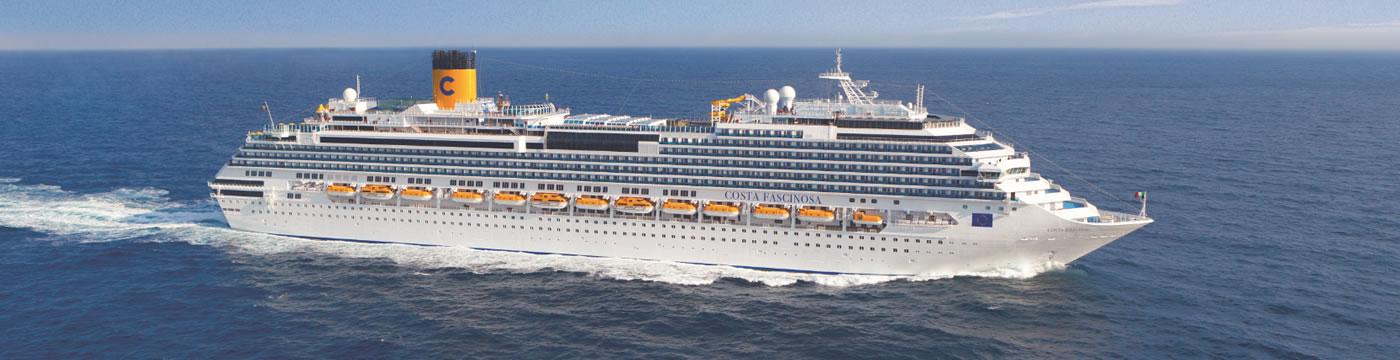 Cubiertas del barco costa fascinosa costa cruceros for Costa favolosa ponti