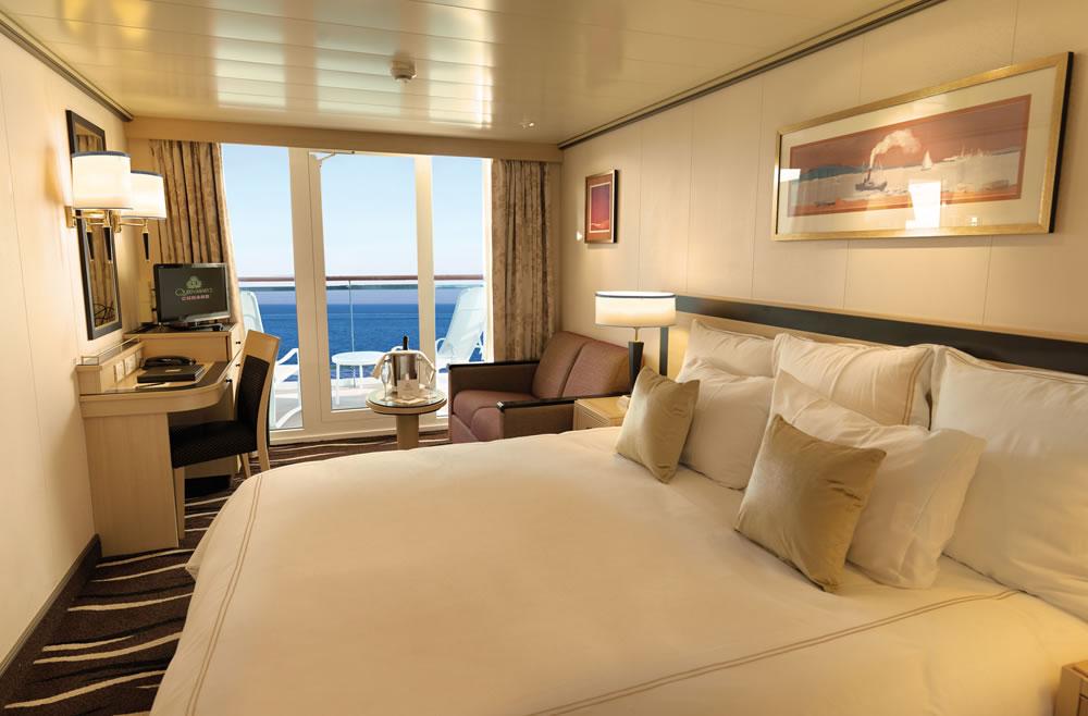 Cubierta deck 5 del barco queen victoria cunard for Exterior vista obstruida