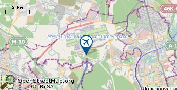 Aeropuerto de Moscu - Sheremetyevo