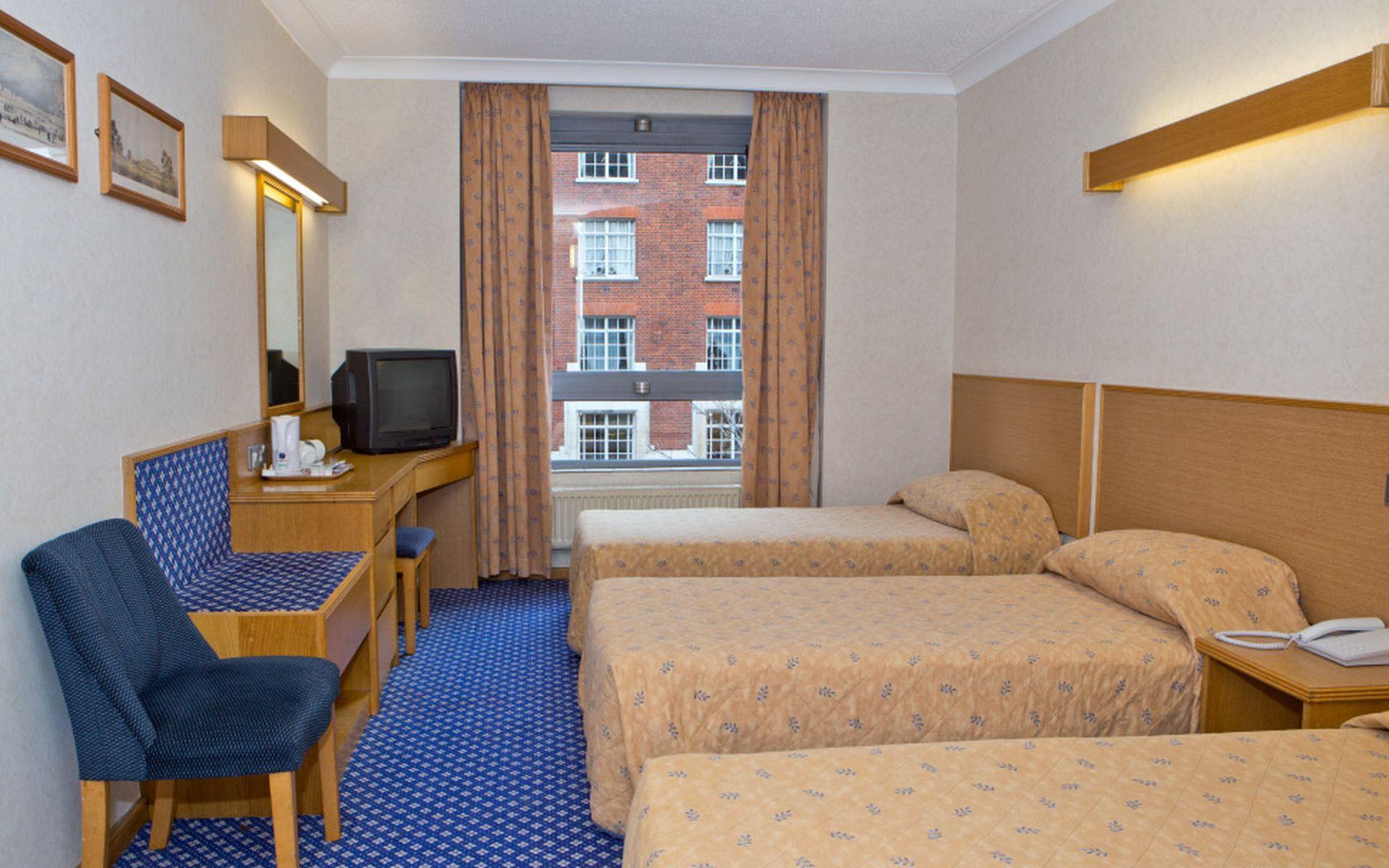 Hotel royal national london desde 59 logitravel for Hotel habitacion familiar londres