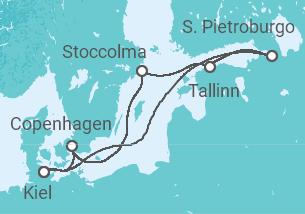 Paesaggi e Storia della Capitali Baltiche