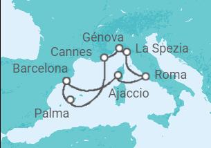 Paisajes de Liguria y fascinantes playas