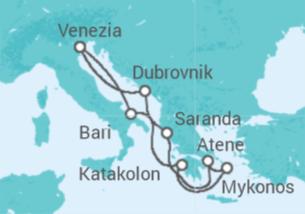 Italia, Grecia, Croazia