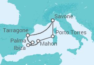 Iles Baléares et Sardaigne