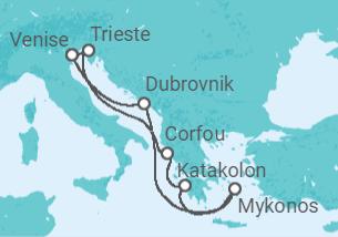 Iles Grecques et Croatie