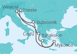 Grecia Clásica, Mar Jónico y Adriático