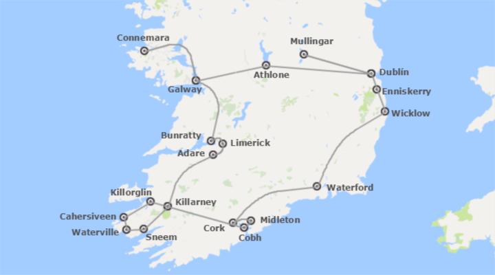Irlanda ruta por el oeste y sur de la isla esmeralda a for Oficina de turismo de irlanda