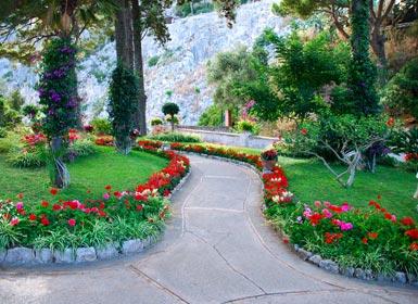 Los jardines de Augusto, Capri