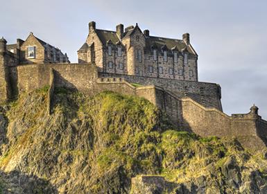 Escocia. Castillo de Edimburgo