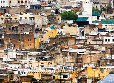 Barrio de Mellah, Fez