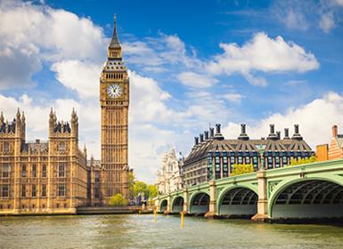 Londres, Inglaterra. Big Ben y El Parlamento