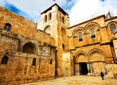 Santo Sepulcro, Jerusalén