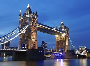 Londres, Inglaterra. El Puente de Londres