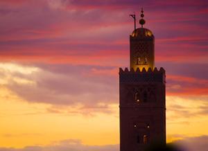 Mezquita de Koutoubia, Marrakech
