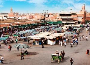 Plaza Jama el Fnaa, Marrakech