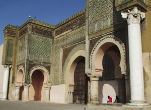 Puerta Bab el Mansour, Mekenes
