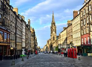 Escocia. Royal Mile