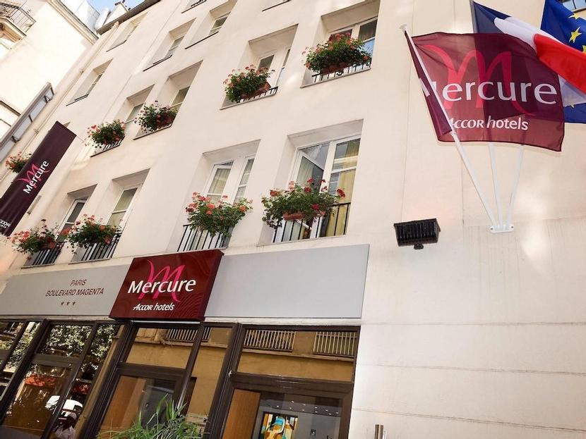 Hôtel Mercure Paris Gare de l'Est Magenta