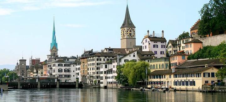 Mejor precio de Barcelona a Zurich