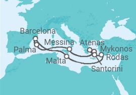 Cruceros Islas Griegas desde Barcelona e Italia