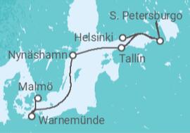 crucero capitales balticas pullmantur