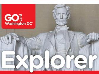 Washington DC Tarjeta Explorer