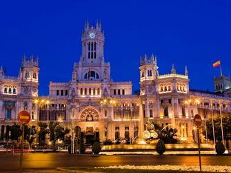 Madrid al caer la noche
