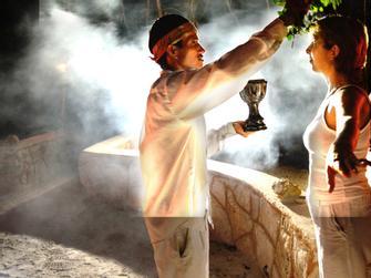 Participa en una Ceremonia Maya incluyendo traslado desde Cancún