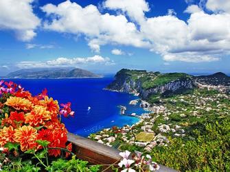 Tour en autocar a Nápoles y ferry a Isla de Capri incluyendo lal Gruta Azul