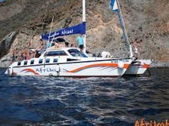 Catamaran Afrikat con transporte