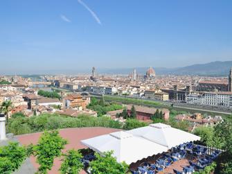 Tour guiado en bus por la ciudad de Florencia + la Galería de la Academia - Por la mañana