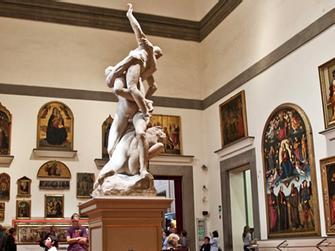 Visita guiada por la mañana de la Accademia y Galeria Uffizi