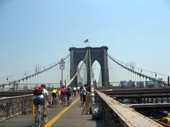 Puente de Brooklyn Alquiler de bicicletas