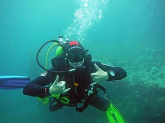 Curso de principiante para buceo en aguas abiertas