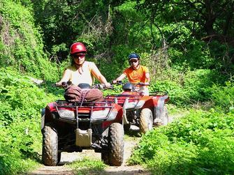 Día de Snorkel & ATV con recogida en hoteles de Cancun