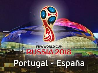 Portugal - España (Copa Mundial 2018)