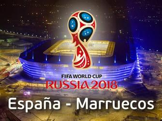 España - Marruecos (Copa Mundial 2018)