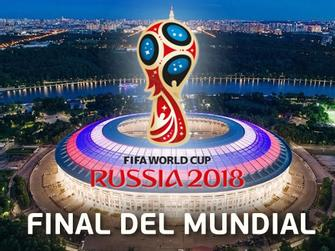 Final Copa Mundial 2018
