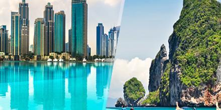 Emiratos y Tailandia