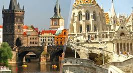 Centroeuropa: Praga y Budapest en avión
